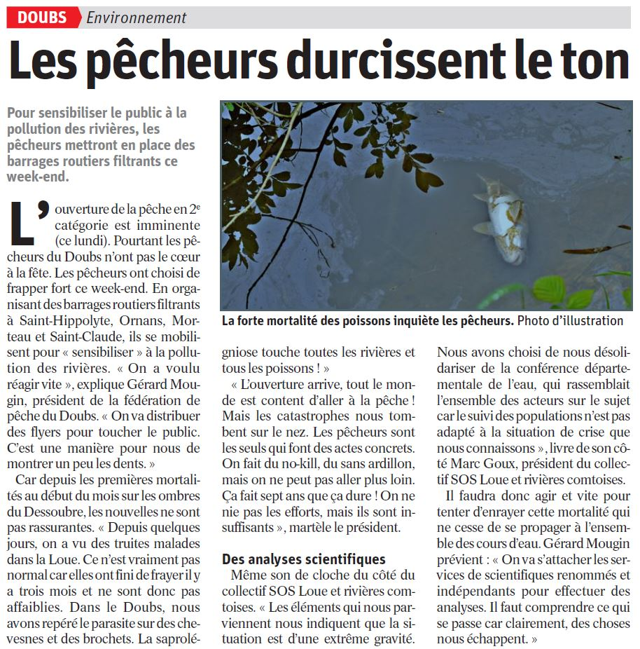article sur la pollution