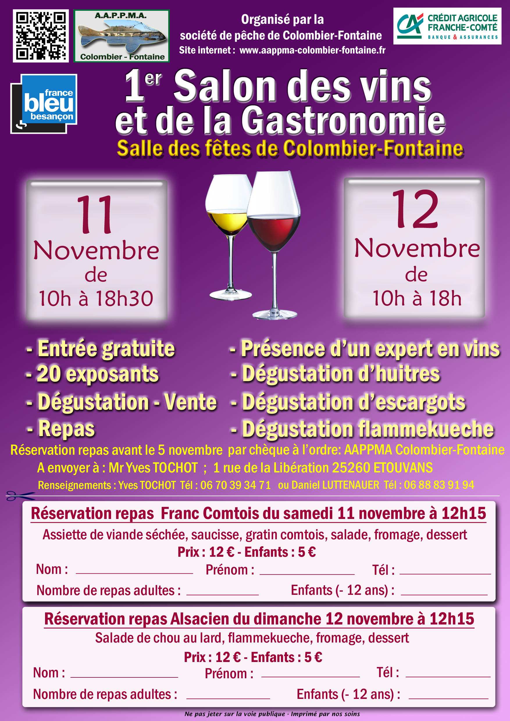 Galerie photo du salon des vins et de la gastronomie du 11 for Calendrier salon des vins